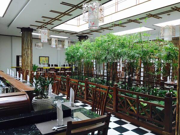 竹園(Takezono Restaurant At Sokha Siem Reap Resort)の店内1