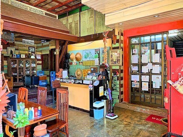 タマリンド ゲストハウス(Tamarind Guesthouse)のレセプション