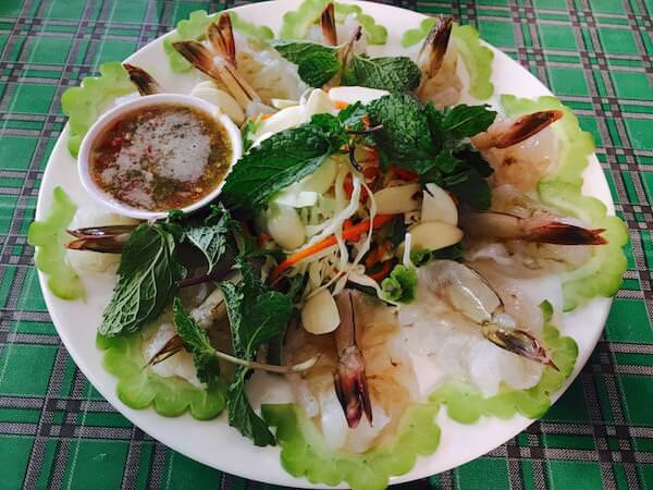 タンケー シーフード レストラン(Tankay Seafood Restaurant)のクンチェーナンプラー
