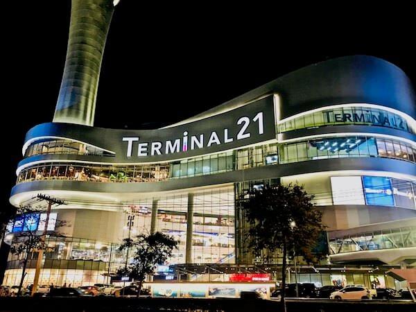 ターミナル21コラートの外観