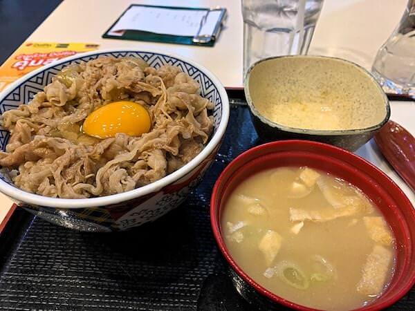 バンコクターミナル21の吉野家で食べた牛丼