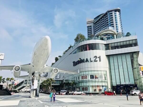 ターミナル21 パタヤ(Terminal21 Pattaya)の外観
