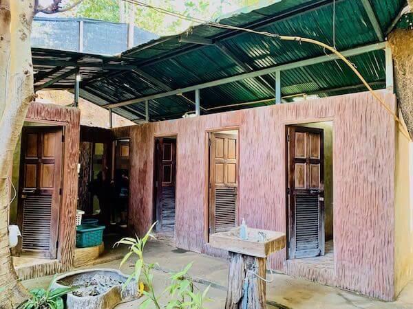 タイ エレファントホームのシャワールーム
