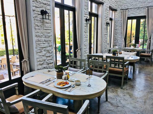 テムズ バレー カオヤイ ホテル(Thames Valley Khao Yai Hotel)の朝食会場