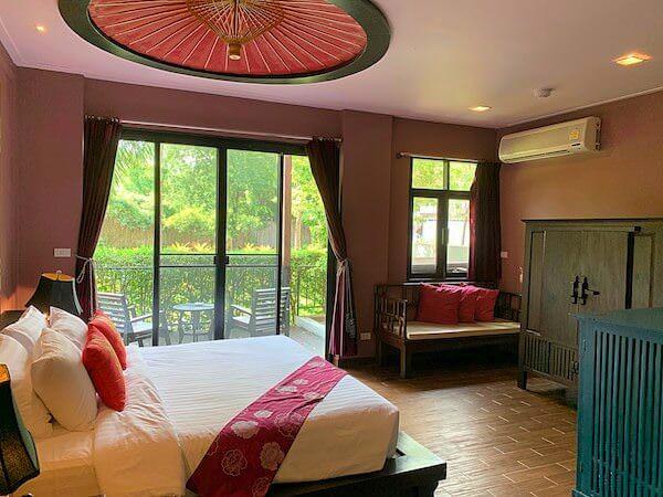 タラブリ リゾート スコータイ(Tharaburi Resort Sukhothai)の客室1
