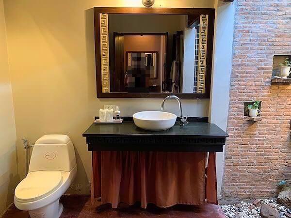 タラブリ リゾート スコータイ(Tharaburi Resort Sukhothai)のシャワールーム1