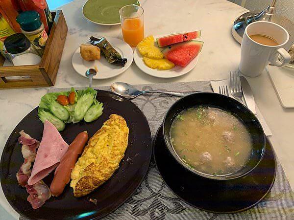 タラブリ リゾート スコータイ(Tharaburi Resort Sukhothai)の朝食