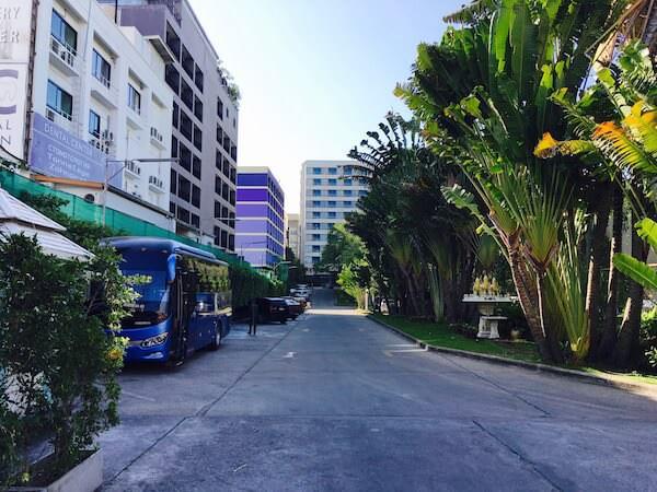ザ ベイビュー ホテル パタヤ(The Bayview Hotel Pattaya)の入り口2