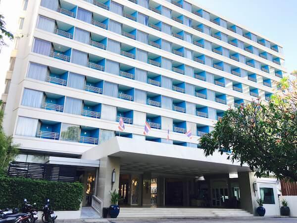 ザ ベイビュー ホテル パタヤ(The Bayview Hotel Pattaya)の外観