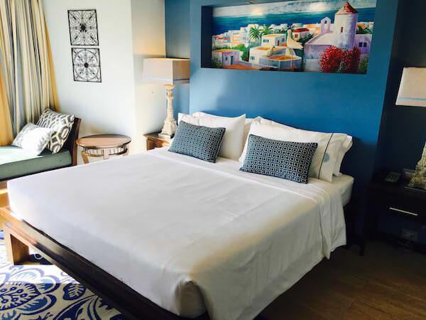ザ ベイビュー ホテル パタヤ(The Bayview Hotel Pattaya)のベッド
