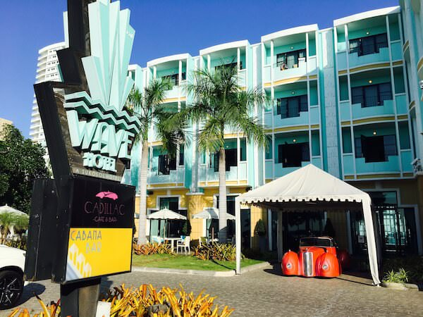 ザ ベイビュー ホテル パタヤ(The Bayview Hotel Pattaya)の裏口1