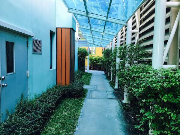 ザ ベイビュー ホテル パタヤ(The Bayview Hotel Pattaya)の裏口3