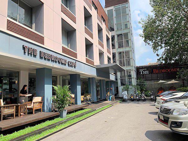 ザ ベッドルームス ブティック ホテル(The Bedrooms Boutique Hotel)の外観