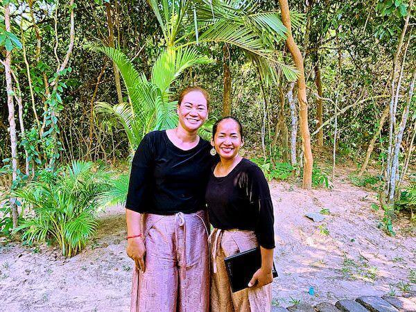 ザ ベージ(THE BEIGE)のカンボジア人スタッフ