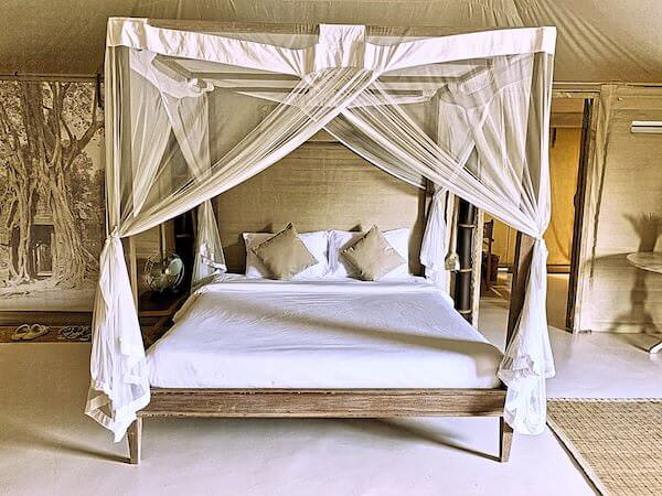 ザ ベージ(THE BEIGE)のベッド