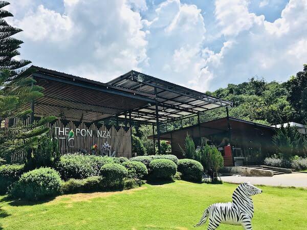 ボナンザ動物園の入り口