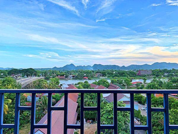ザ ブリッジ レジデンス ホテル (The Bridge Residence Hotel)のバルコニーから見える景色