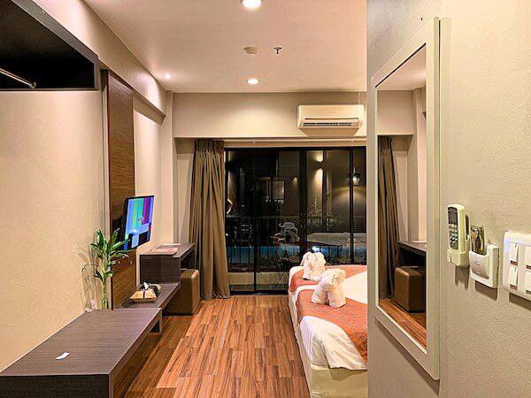 ザ コテージ スワンナプーム ホテル(The Cottage Suvarnabhumi Hotel)の客室1