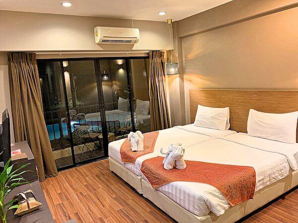 ザ コテージ スワンナプーム ホテル(The Cottage Suvarnabhumi Hotel)の客室2