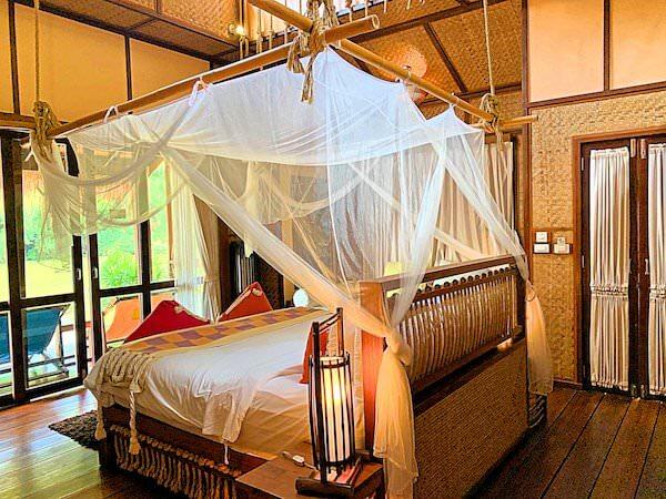 ザ フロートハウス リバークワイ リゾート(The Float House River Kwai Resort)の客室ヴィラ1