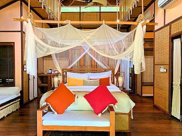 ザ フロートハウス リバークワイ リゾート(The Float House River Kwai Resort)の客室ヴィラ2