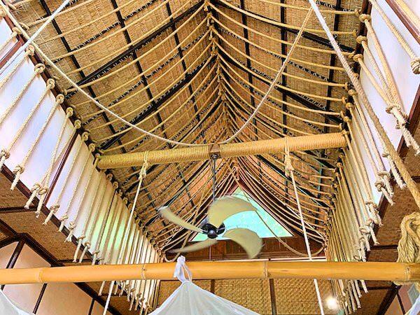 ザ フロートハウス リバークワイ リゾート(The Float House River Kwai Resort)客室ヴィラの天井