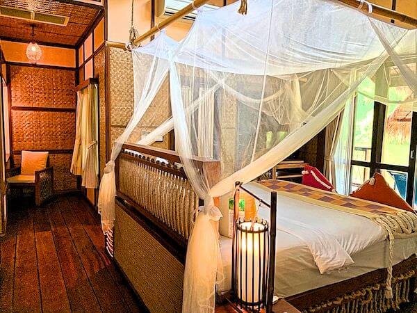 ザ フロートハウス リバークワイ リゾート(The Float House River Kwai Resort)の客室ヴィラ3
