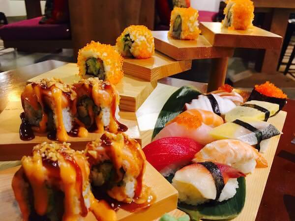 はし(The Hashi Japanese Restaurant)の寿司盛り合わせ