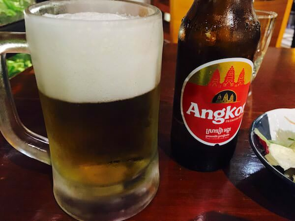 はし(The Hashi Japanese Restaurant)のアンコールビール