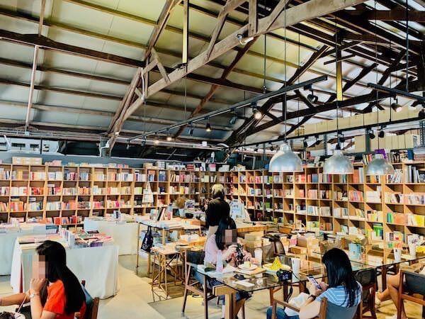 ザ・ジャム ファクトリー(The Jam Factory)のブックコーナー