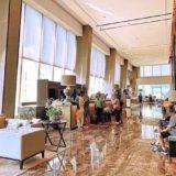 ジ オークラ プレステージ バンコク(The Okura Prestige Bangkok)のエントランスロビー