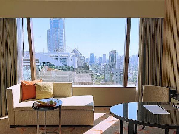 ジ オークラ プレステージ バンコク(The Okura Prestige Bangkok)の窓
