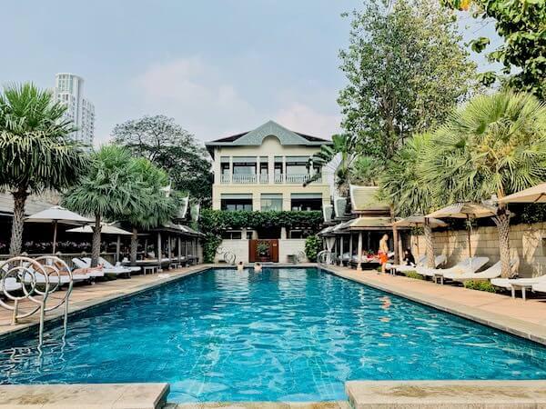 ザ ペニンシュラ バンコク(The Peninsula Bangkok)のプール3