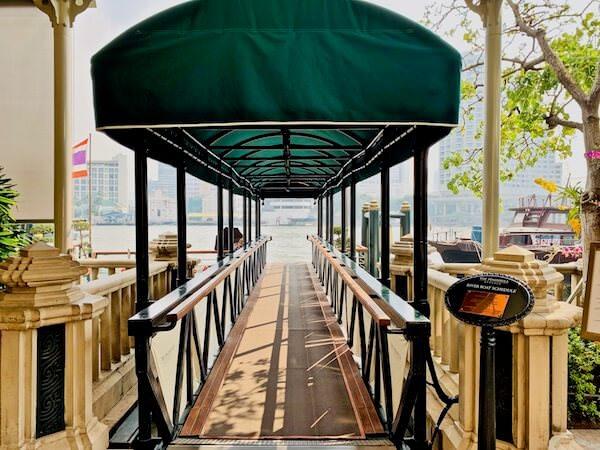 ザ ペニンシュラ バンコク(The Peninsula Bangkok)のボート乗り場