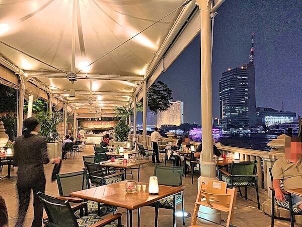 ザ ペニンシュラ バンコク(The Peninsula Bangkok)のリバービューレストラン