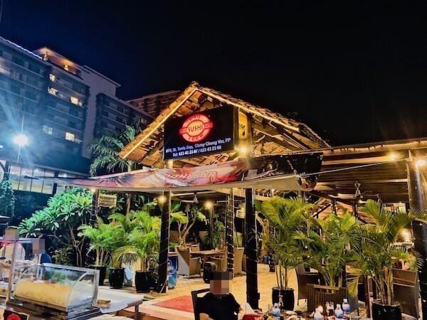 ザ・スシバー(The Sushi Bar)の外観
