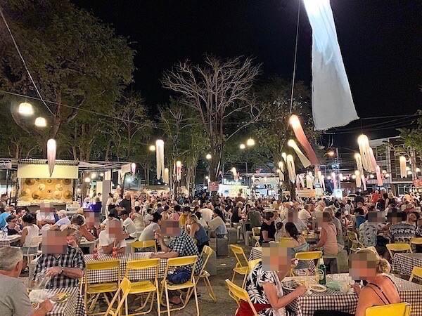タマリンドマーケット(The Tamarind Night Market)の飲食店
