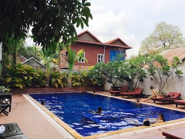 ザ ビラ シェムリープ(The Villa Siem Reap)のプール