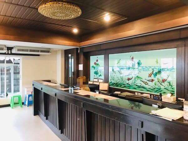 トン タ リゾート スワンナプーム (Thong Ta Resort Suvarnabhumi)のレセプション