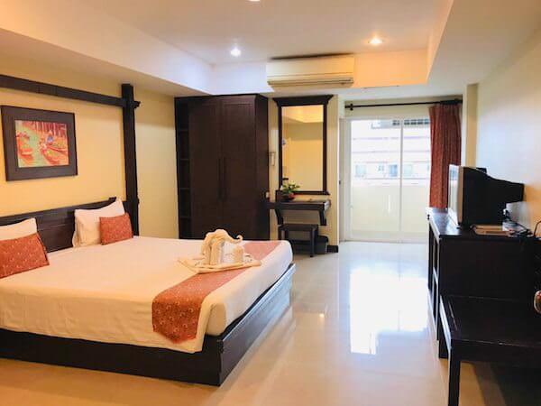 トン タ リゾート スワンナプーム (Thong Ta Resort Suvarnabhumi)の客室1