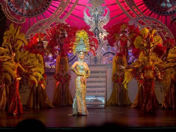 ティファニーズショーの舞台1
