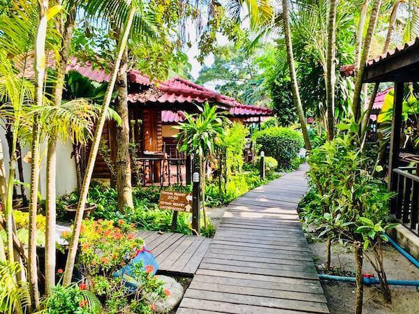 トンサックリゾート(Tonsak Resort)の敷地内