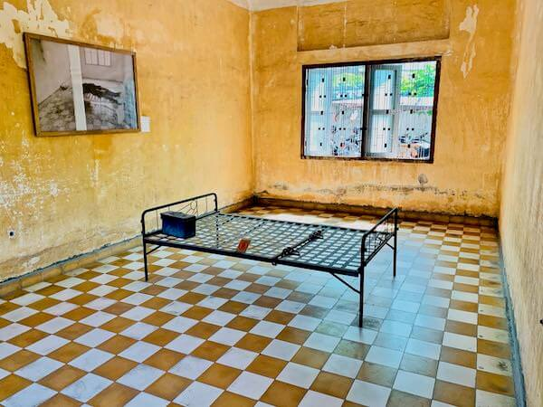 トゥールスレン大虐殺博物館の拷問部屋