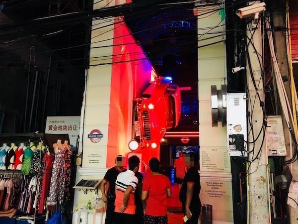 ウォーキングストリート レッドカー パブ(Walking Street Red Car Pub)の外観