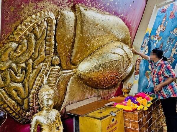 涅槃仏の心臓