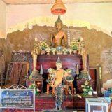 ワット クン サムット チンという沈みゆく寺院。土地の侵食で島になった地域を訪問。