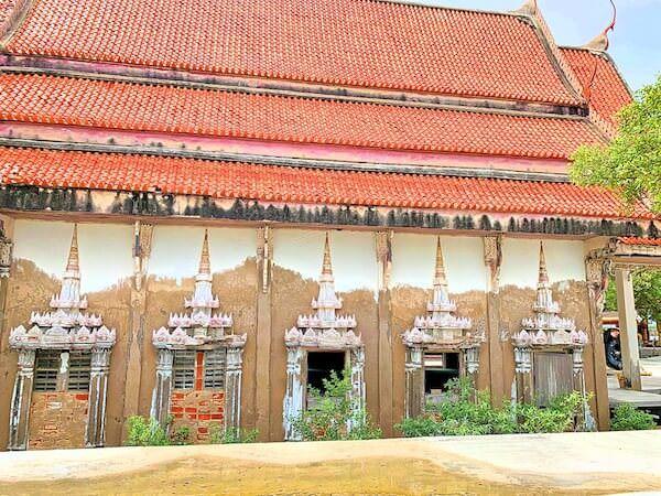 ワット・クン・サムット・チン(Wat Khun Samut Chin)本堂の外観