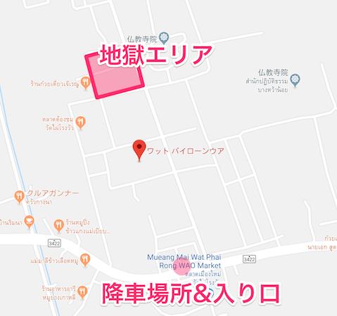 ワットパイロンウアの地図