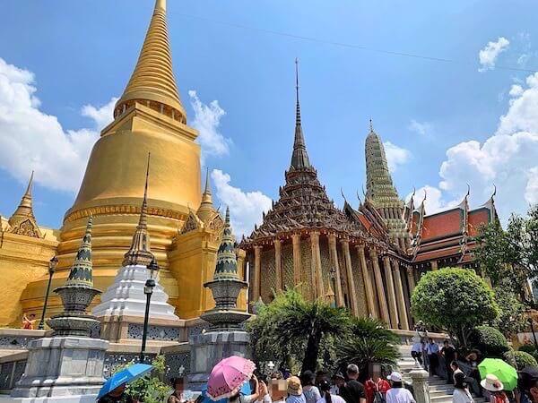 ワットプラケオの仏塔