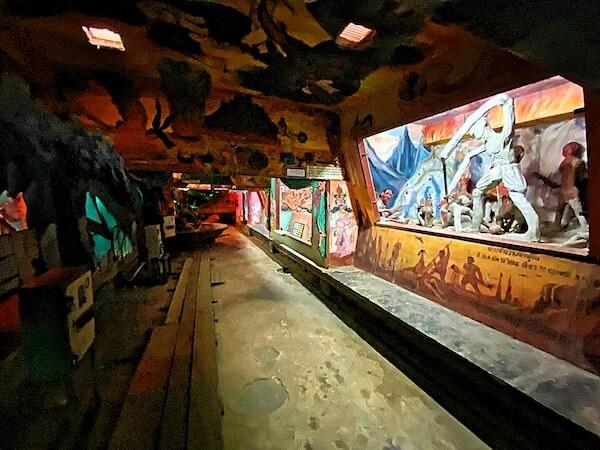ワットプートウドムの地獄エリア1